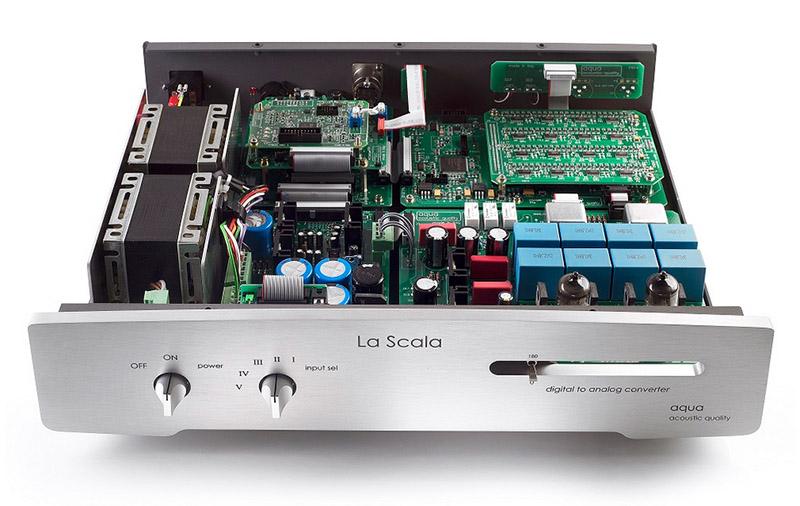 Aqua La Scala Mk II Optologic. Bit e valvole all'italiana