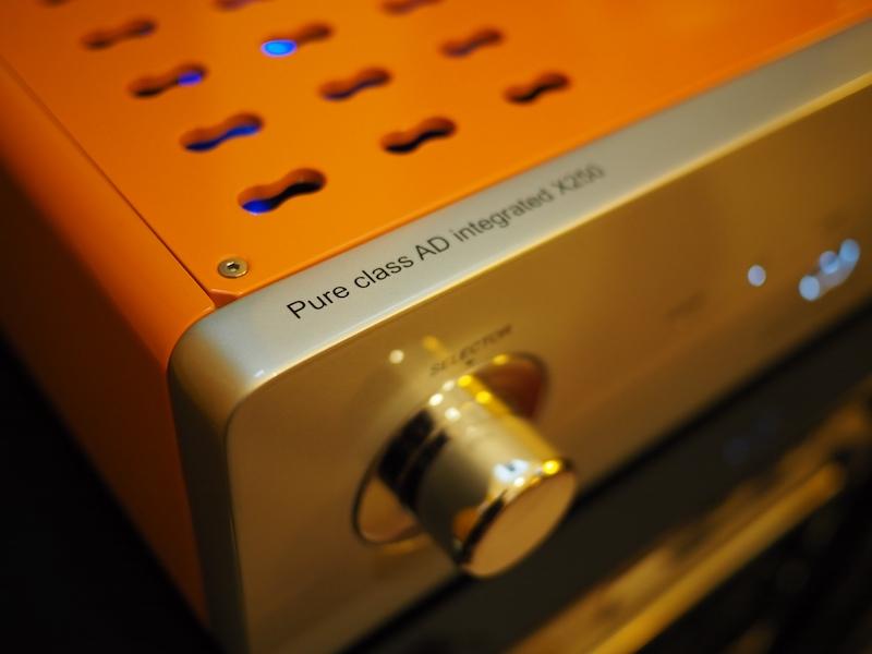 Extraudio X250, amplificatore integrato in Pure Class AD
