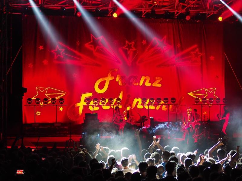 Franz Ferdinand al Cinzella Festival 2019. Photobook