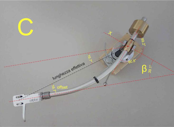 Giradischi: la geometria del braccio a banana