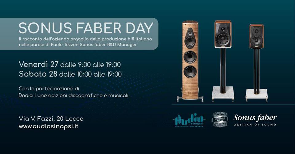27 e 28 dicembre: il Sonus Faber Day di Audio Sinapsi